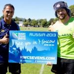 Rugby World Cup Sevens 2013 u Moskvi