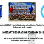 Satnica turnira MOZZART Beogradski Pobednik 2013