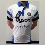 BATH rugby polo – bela