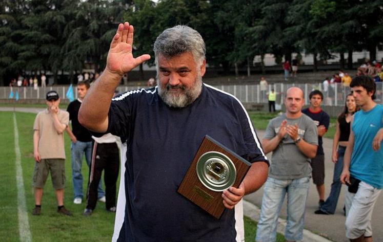 Легенда и један од оснивача рагби клуба Рад (Победник), Бошко Стругар