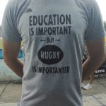 RUGBY IS IMPORTANTER T-SHIRT